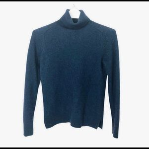 Ann Taylor 100% Cashmere Turtleneck Sweater